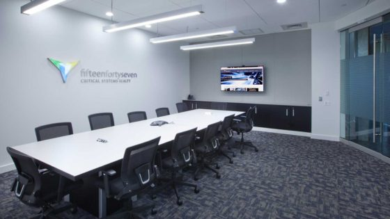 1547's Orangeburg New York data center conference room